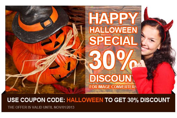 Распродажа в Хеллоуин